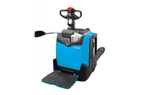Elektryczne wózki paletowe z platfromą do intensywnych prac w zamkniętych pomieszczeniach