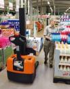 Kompaktowe wózki podnoszące z operatorem idącym do prac o niskim natężeniu