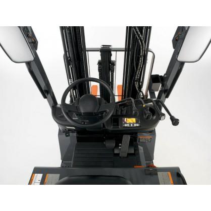 Elektryczne wózki widłowe z przeciwwagą do prac o średniej intensywności i podnoszenia ładunków