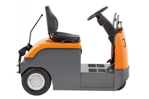 Elektryczne wózki do holowania z fotelem operatora do prac na długich dystansach