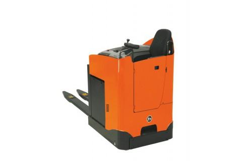 Elektryczne wózki paletowe z fotelem operatora do transportu wewnętrznego na dużych dystansach