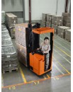 Elektryczne wózki podnoszące z miejsciem dla operatora do intensywnych prac