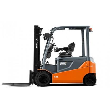 Groovy Elektryczny wózek widłowy dla większej efektywności prac wewnątrz JQ41