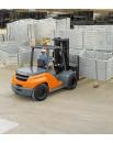 Wózki widłowe z przeciwwagą dla intensywnego transportu magazynowego i składowania palet