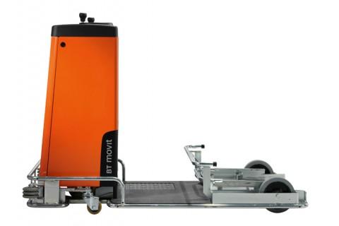 Kompaktowy wózek do holowania do prac o niskiej intensywności i kompletacji zamówień