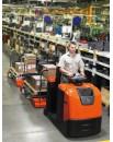 Wózki do holowania ciężkich ładunków i kompletacji zamówień