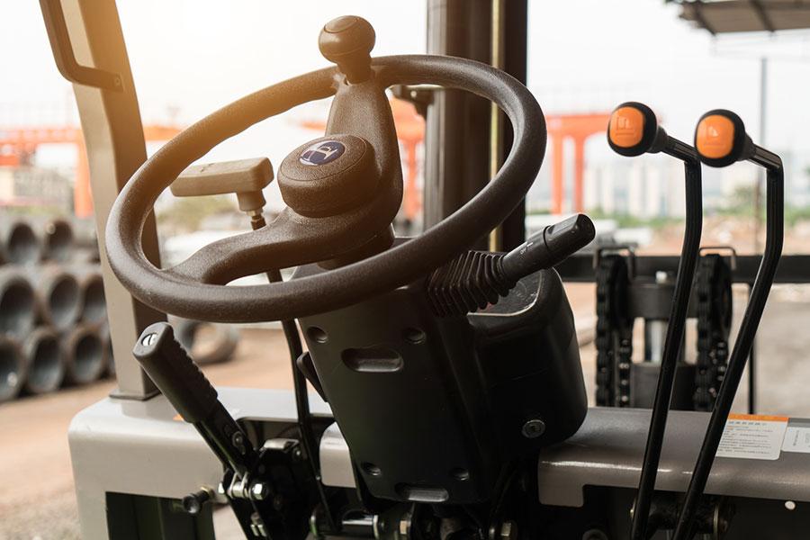 kierownica wózka widłowego
